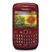 Unlocked Blackberry Gemini Curve 8520 in Red
