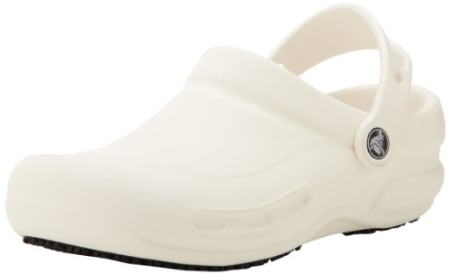 Crocs Unisex-Adult Bistro White Back Strap Sandal 10075-100-160 4 UK