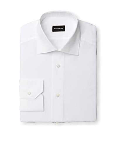 Ermenegildo Zegna Men's Solid Dress Shirt