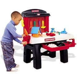 Little Tikes My First Craftsman Workbench Toys Games