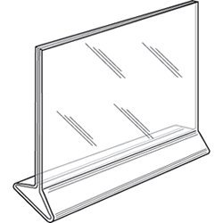 Clear-Ad - LHB-64 - Clear Top Load Plastic Ad-Frame That Holds A 6\