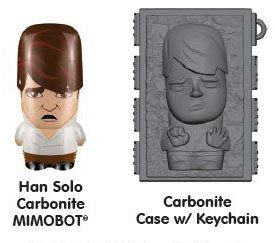 Han Solo 8GB MIMOBOT USB with Carbonite carrying case by MIMOCO