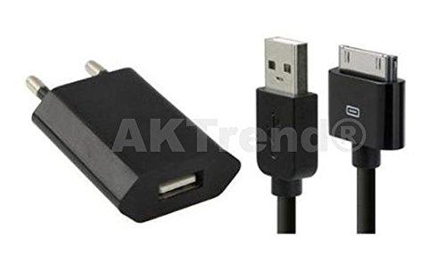 AKTrend® - 2in1 Schwarz USB Sync