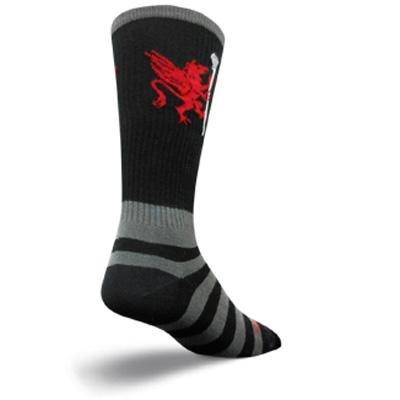 Image of SockGuy Crew 8in LAX Griffen Lightweight Lacrosse Socks (B005TCA0T0)