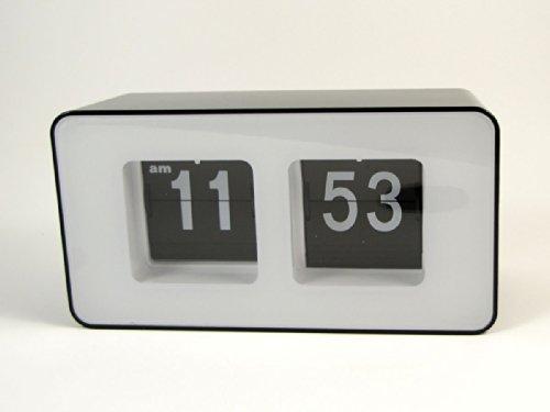 ZJchao Unique Retro Cube Nice Desk Wall Auto Flip Clock New Design Simple Modern