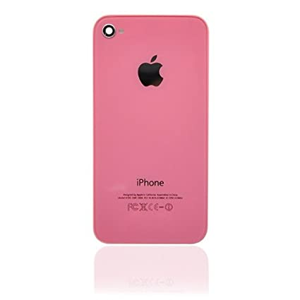 Amazon.com: Generic IPhone 4S Back Glass Pink (Fit IPhone 4S And ...