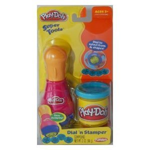 Play-Doh Super Tools - Dial 'n Stamper - 1