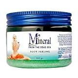 Mineral Line - Dead Sea, Body Peeling Scrub - Eucalyptus, 500 gr / 17.6 oz