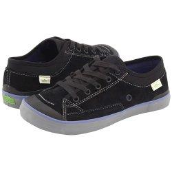 Simple Satire Lace-Up Sneaker (Toddler/Little Kid/Big Kid),Black,5 M US Big Kid