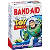 Band-Aid Adhesive Bandages, Disney-Pixar Toy Story, Assorted Sizes, 20 ct. Children, Kids, Game