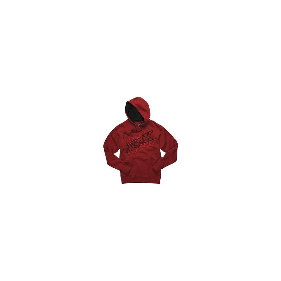 Fox Racing Reflection Hoody   Small/Red
