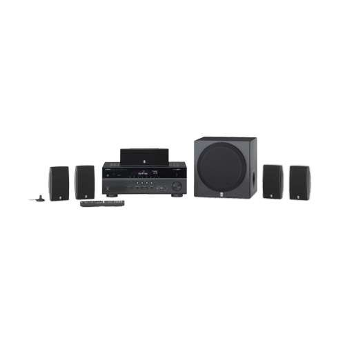 Video review yamaha 5 1 channel 675w 3d powerful for Yamaha surround system review