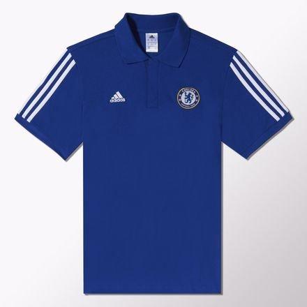 Chelsea FC da uomo adidas corrente stagione 2014/15Maglietta Polo, uomo, blu