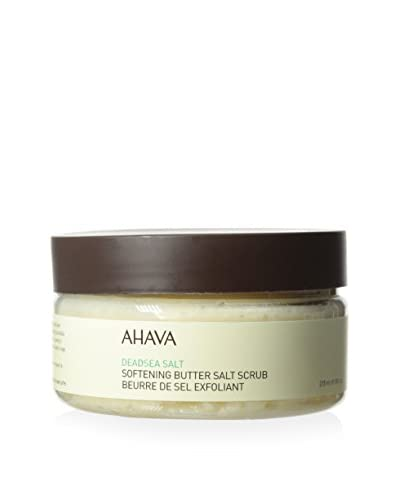 AHAVA Dead Sea Salt Softening Butter Salt Scrub, 7.5 oz.
