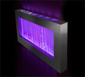 Ambiente 1.0m 3ft 4-inch Landscape Bubble Wall Colour Changing Hanging Water Feature