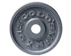 Golds Gym GG-P122050 Olympic Style Hammertone Plate - 5-Kilograms