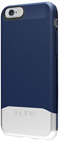 Incipio EDGE Chrome Case, iPhone 6s Case, [Shock Absorbing] Cover fits Apple iPhone 6, iPhone 6s - Blue / Silver (Incipio Edge compare prices)