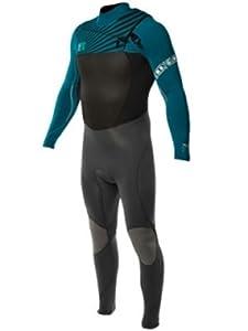 Buy Body Glove Mens 3 2mm Slant Zip CT Full Body Wetsuit, Small by Body Glove