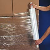 """Stretch Wrap 20"""" x 1000 feet 80 Gauge Stretch wrap with Extended Core"""