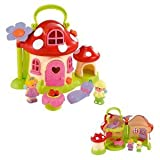 HappyLand Fairy Toadstool Cottage Playset