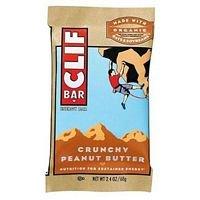 Clif Bar, Organic, Crnch Peanut Butter, 2.4 Oz ( Value Bulk Multi-Pack) front-570967