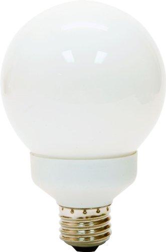 Ge Lighting 89633 Energy Smart Cfl 15-Watt (60-Watt Replacement) 825-Lumen G25 Light Bulb With Medium Base, 1-Pack