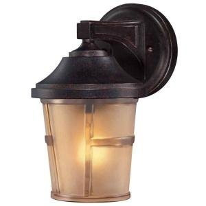 Amazon.com - Hampton Bay 2-PACK Exterior Wall Lantern Light