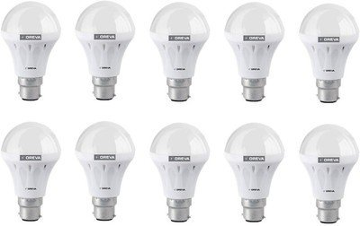 Eco 12W LED Lamp (White, Pack of 10)