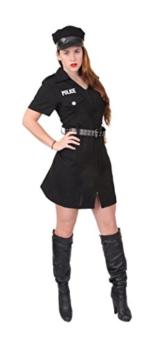 Rothco Women's Police Costume in Black