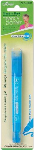 Trace 'n Mark Water Erasable Marker Pen By Nancy Zieman-Blue