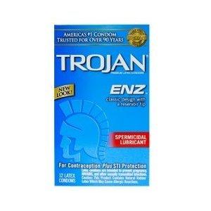 Trojan ENZ Lubricated Condoms - Undercover Condoms