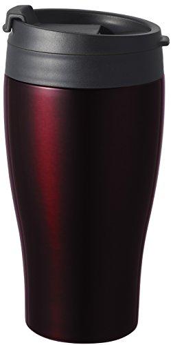 ドウシシャ タンブラー ふた付き コンビニマグ ダイレクトタイプ 真空断熱 直接ドリップ 0.36L ブラウン CBCT400BR