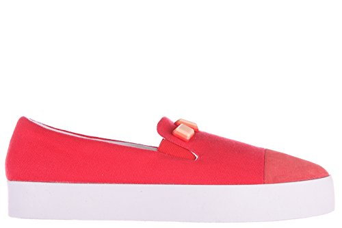 Armani Jeans slip on donna nuove sneakers originali rosso EU 37 C57D3 61 4Q