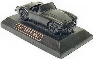 MGA 1600 MKII - Hand Crafted Coal model Car