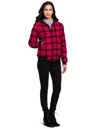 Carhartt Women's Camden Active Jacket, Scarlet, Large