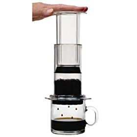 AeroPress Coffee and Espresso Maker with Bonus 350 Micro Filters
