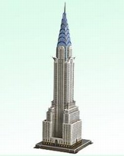 Cheap CALEBOU 3D 3D Chrysler Building Usa Puzzle Model (B002QHFBQS)