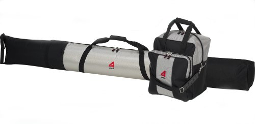 athalon-deluxe-135-two-piece-ski-and-boot-bag-combo-boxed-silver-black-185-cm