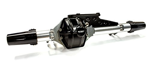 Integy RC Hobby C25332BLACK Billet Machined T5 Rear Axle Conversion Kit for Axial 1/10 Wraith