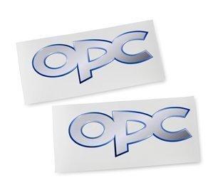 ORIGINAL Opel OPC Emblem Aufkleber 250x100 mm Doppelpack! Für Corsa Astra Vectra Insignia Zafira A B C D F G H J GTC GTS OPC