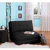 Your Zone Flip Chair Black