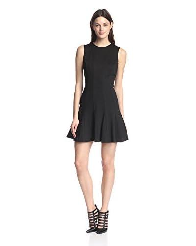 Nicole Miller Women's Amber Ponte Fit & Flare Dress