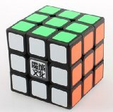 New !! YJ Moyu Liying 3x3x3 Speed Cube Puzzle Smooth 3x3 Black - 1