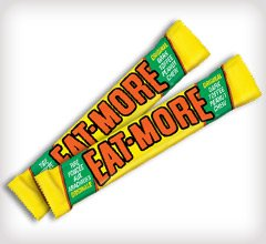Eat-more Candy 48 Bars Dark Canada Toffee Peanut Chocolate Candy Bar Free Shipping