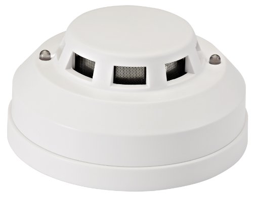 Cop Security 15-540 Home Photoelectric Natural Gas Leak Sensor Detector Alarm (White)