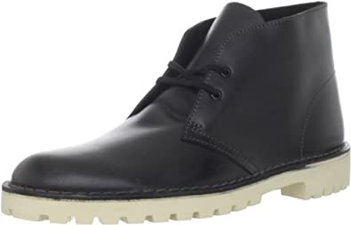 Clarks Men's Desert Trooper Lace-Up Boot,Black,11.5 M US