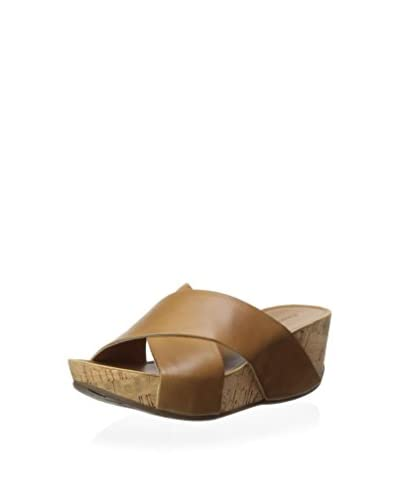 Chocolat Blu Women's Melissa Cork Covered Platform Wedge  [Camel]
