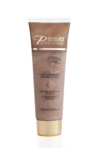 Premier Dead Sea Para-pharmaceutical Exfoliating Facial Gel, Brown, 4.3958-Fluid Ounce
