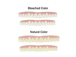 Imako cosmetic teeth for women 1 pack small natural uppers only imako cosmetic teeth for women 1 pack small natural uppers only arrives flat fit at home do it yourself solutioingenieria Gallery