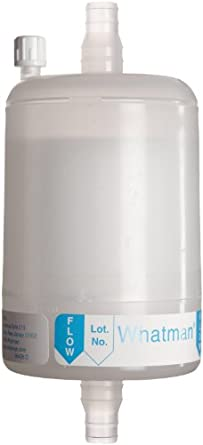 Whatman 6710-7504 Polycap TF 75 PTFE Membrane Capsule Filter, 60 psi Maximum Pressure, 0.45 Micron